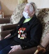 Участница ВОВ Янина Ефимовна Чепыжова приняла поздравления с 75-й годовщиной Победы в Великой Отечественной войне