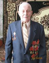 Участник ВОВ Борис Николаевич Кочин принял поздравления с Днем Великой Победы!
