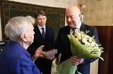 Вручение юбилейной медали«75 лет Победы в Великой Отечественной войне 1941 - 1945 гг.»